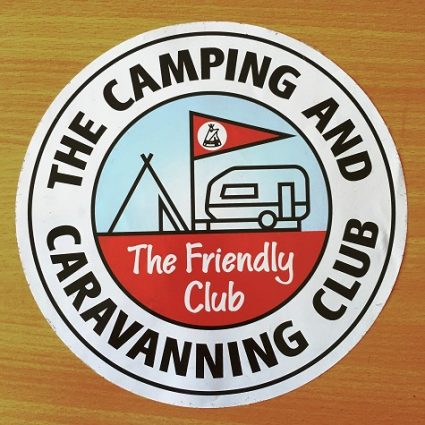 Printed vinyl round club stickers