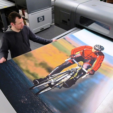 graphic display panel printing