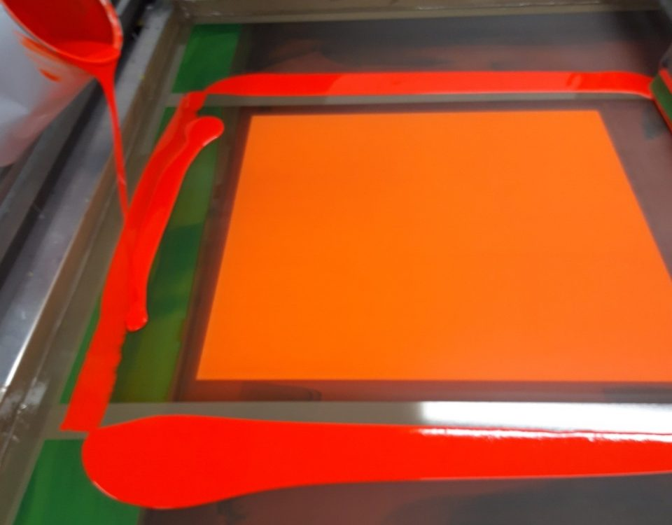 fluorescent sign printing