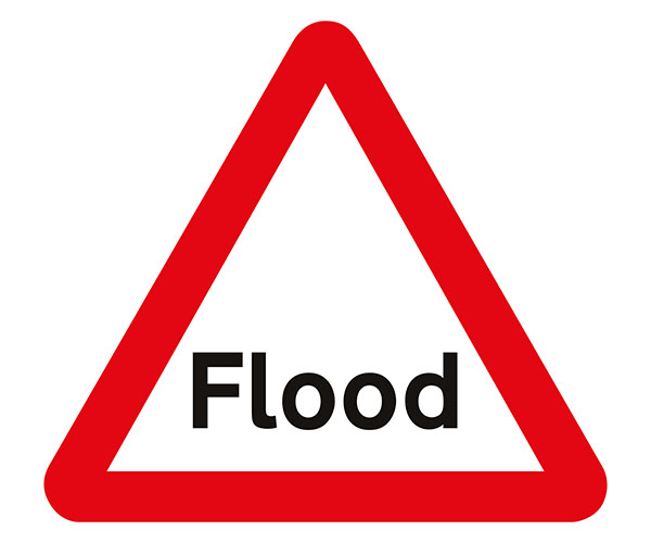 Flood Signs, Temporary correx road signs