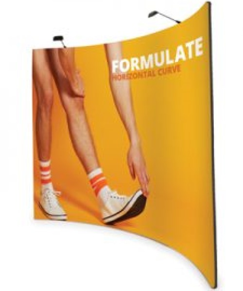 Formulate Fabric pop up stand