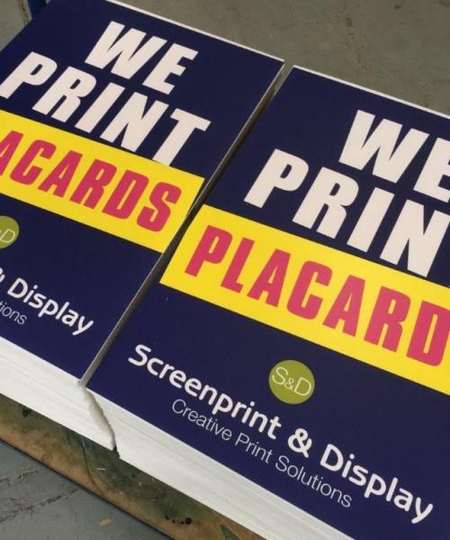 Printed Demonstration boards