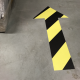 Floor arrow stickers and social distancing direction markers