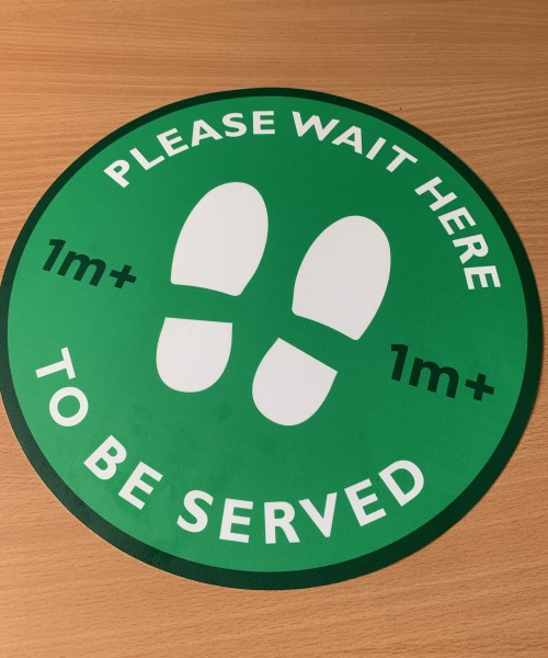 1m+ Pub Social Distancing Floor Stickers