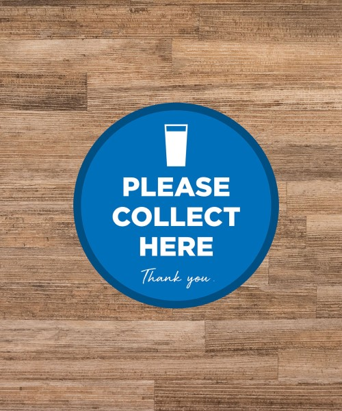 Hospitality Leisure & Tourism Social Distancing Stickers