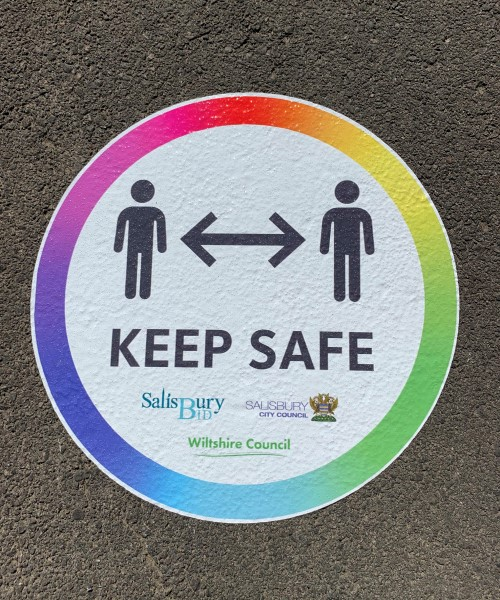 keep safe council outdoor stickers