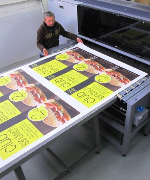 Poster Printing and large format print based in Yorkshire, UK