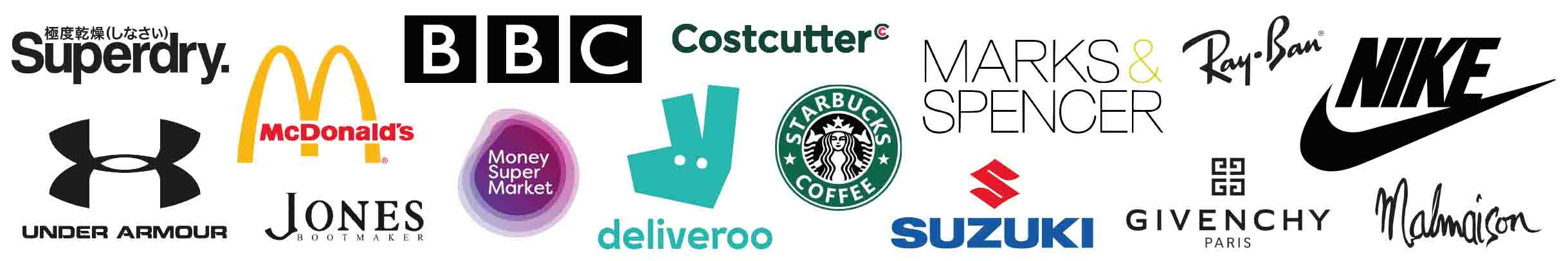 Companies and brands