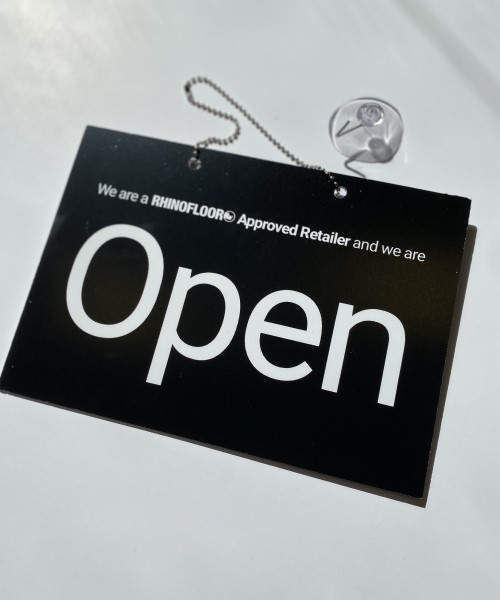 Open and Closed sign printing